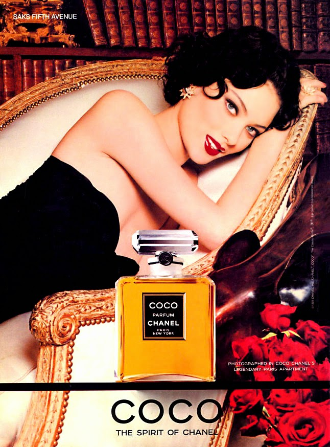 Très Chanel Perfume Bottles: Coco by Chanel c1984 VH58