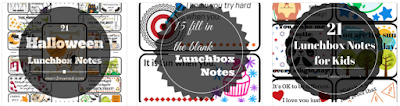 Mom2MomEd Blog: Lunchbox notes on Etsy