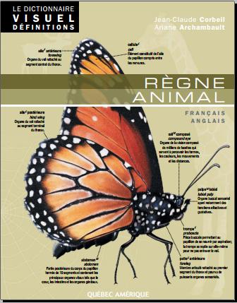 Livre : Règne animal - Edition bilingue, français-anglais
