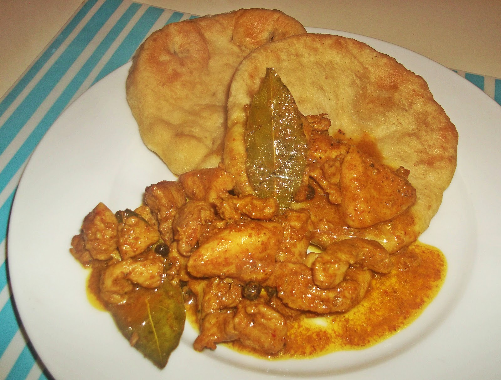 Curry Chicken Roti Cur...
