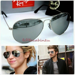 ray ban aviator rb3025 mirror