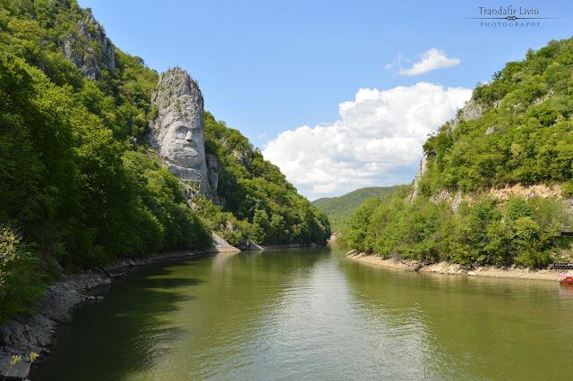 Chipul lui Decebal, cea mai inalta sculptura in piatra din Europa