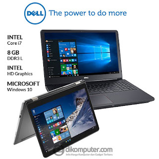 Harga Laptop DELL Inspiron 7568