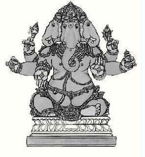 Trimukha Ganapati