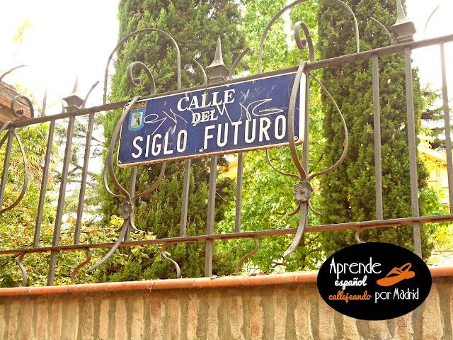 calle del siglo futuro