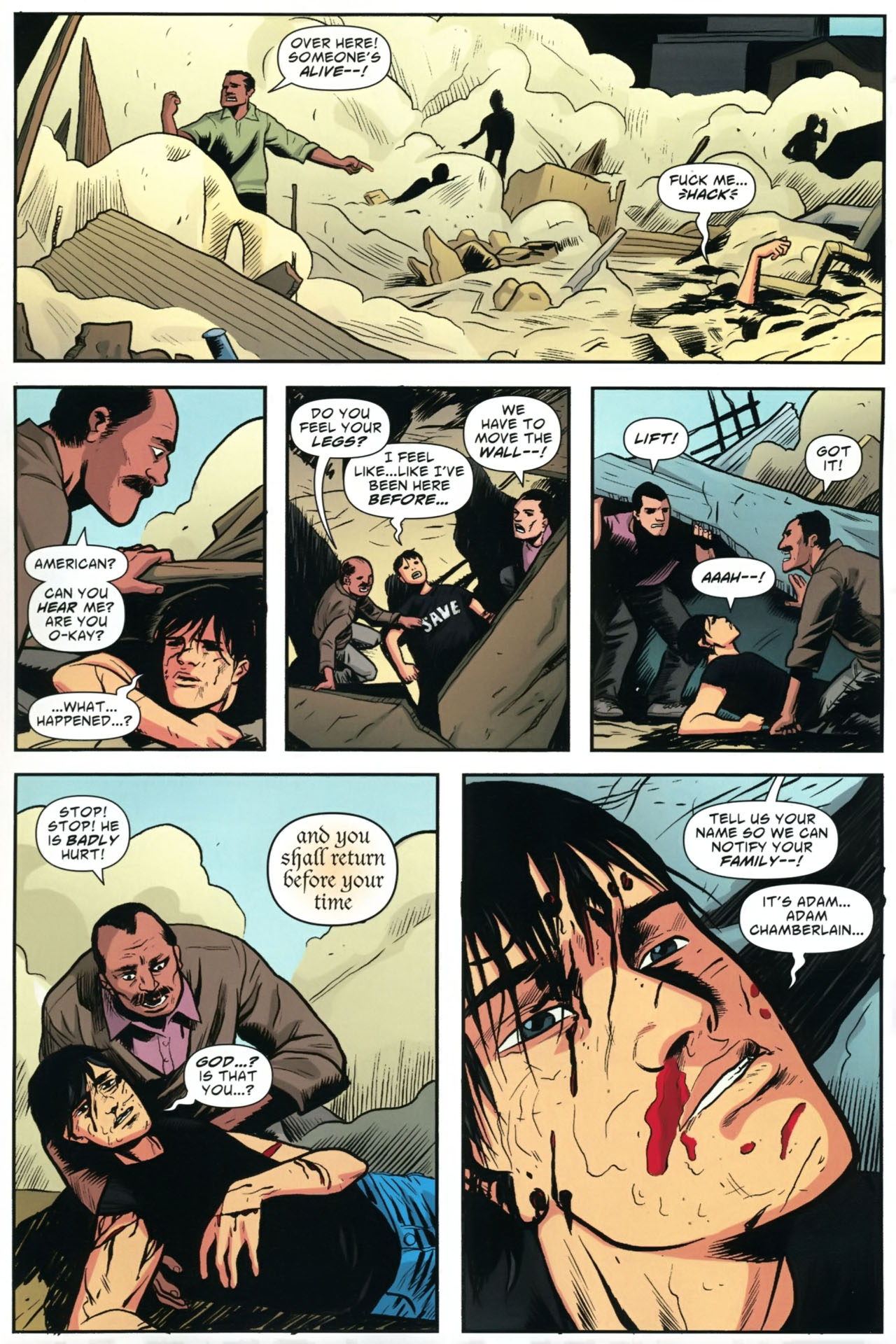 Read online American Virgin comic -  Issue #23 - 22