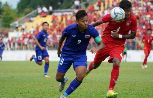 Video Gol Thailand vs Myanmar 1-0 Semifinal SEA Games 2017