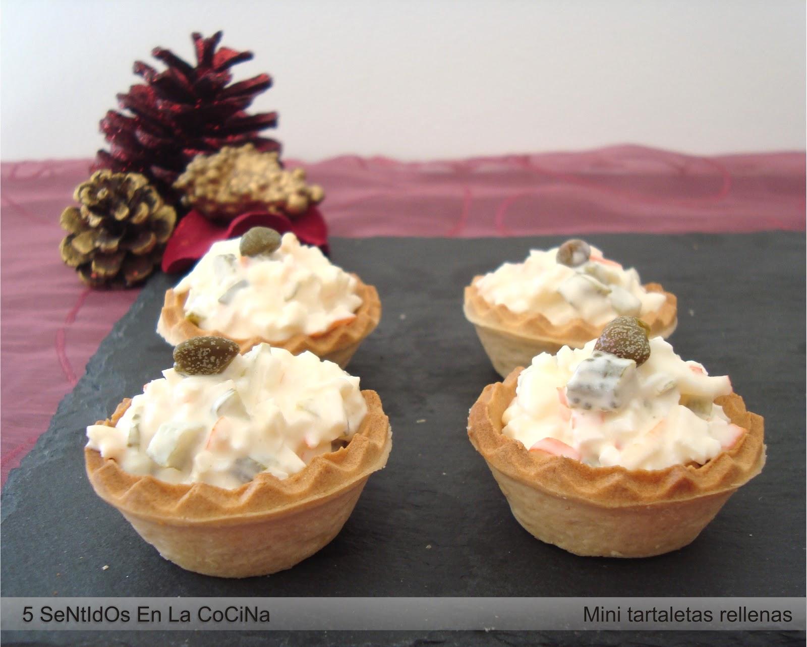 Recetas de relleno de tartaletas para navidad
