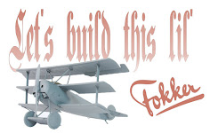 Review Pt.II: Meng's 1/32nd scale Fokker Dr I Triplane Construction
