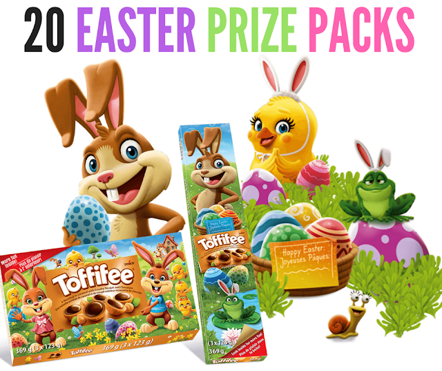 WIN 1 of 20 Easter Prize Packs