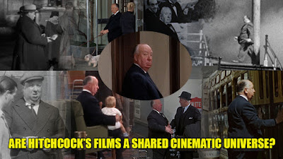 Alfred Hitchcock films shared cinematic universe