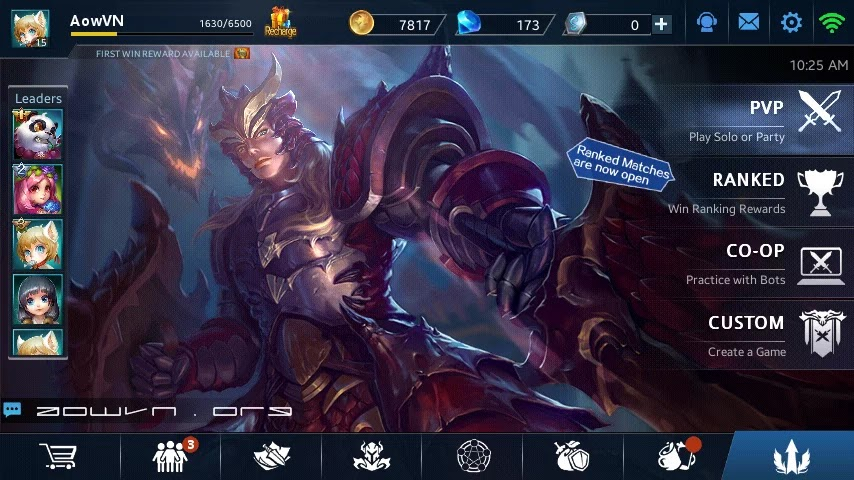 heroes evoled aowvn%2B%25281%2529 - Heroes Evolved - Game MOBA tuyệt hay trên Android & IOS