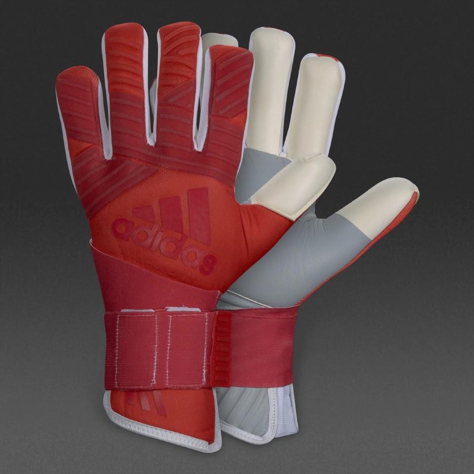 Adidas Men GK Predator Regular Goalkeeper Gloves Black ... |Goalkeeper Gloves Adidas 2015