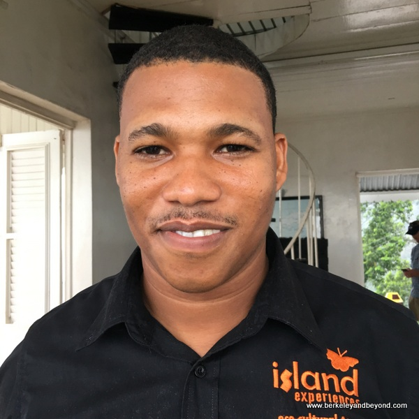 Ricardo, a guide with Island Experiences in Trinidad