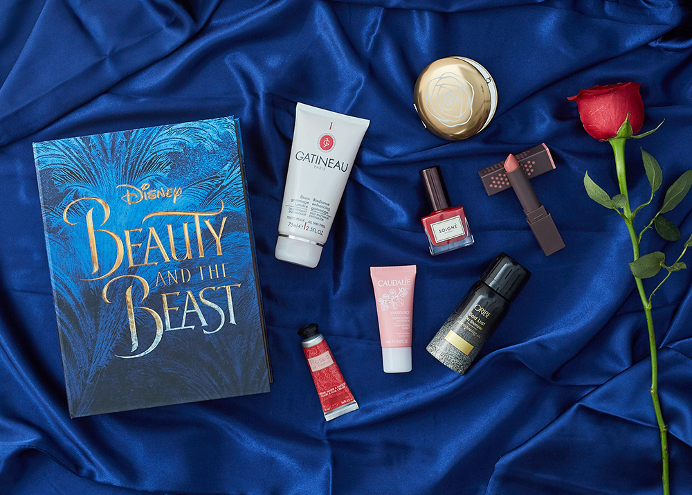 Latest in Beauty x Beauty and the Beast limited edition beauty box for women