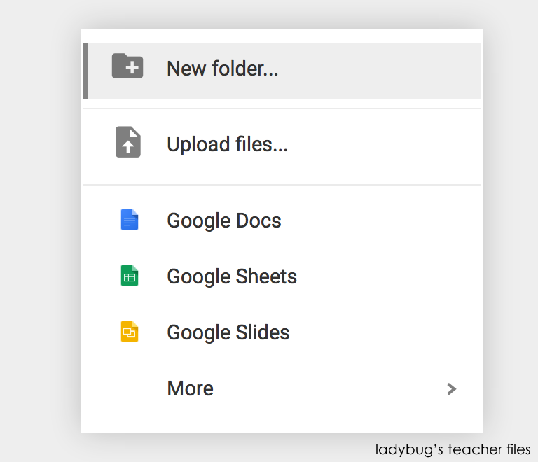 Color Code and Organize Your Google Drive - Ladybug\'s Teacher Files