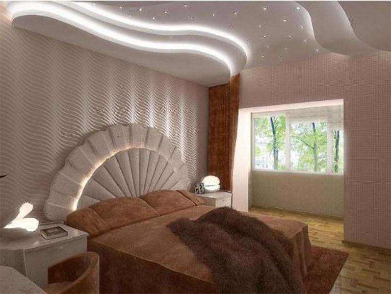 16 gorgeous pop ceiling design ideas give a luxury appeal for Decor chambre coucher