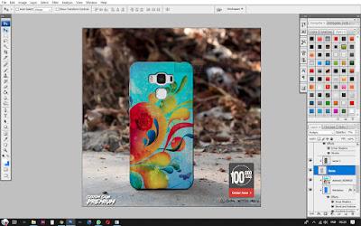 Mockup Case Asus Zenfone 3 Max