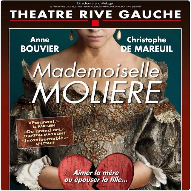 Mademoiselle Molière Théâtre rive gauche