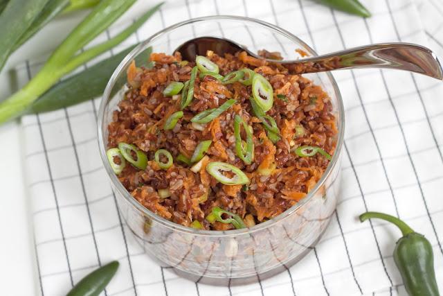 ryżz marchewką
