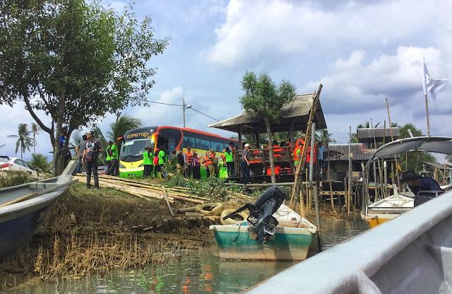 Pengalaman Mangrove Tour di Desa Keroma Eco Resort, Muar