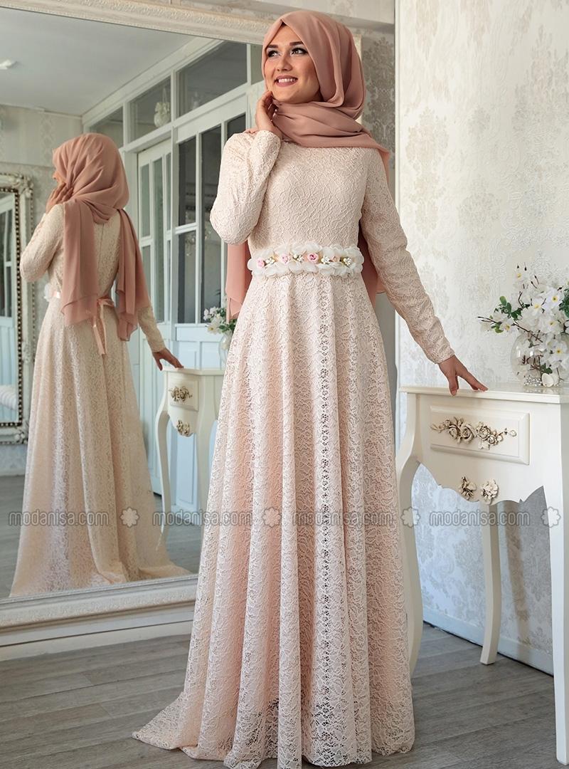 Hijab style robe soiree