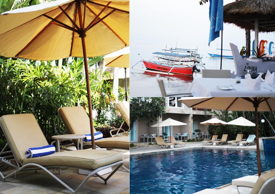 pool divining bali boat