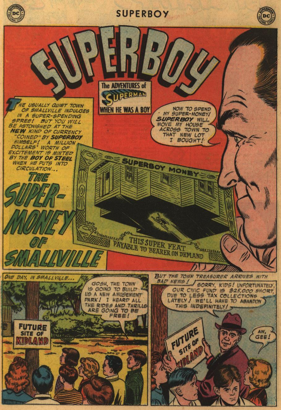 Superboy (1949) issue 51 - Page 17