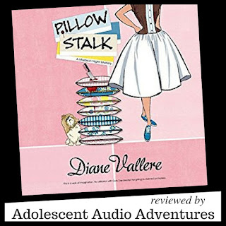 Adolescent Audio Adventures reviews Pillow Stalk by Diane Vallere