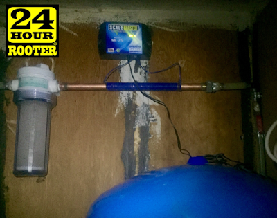 yakima plumbers install a water treatment softener for yakima plumbing customers