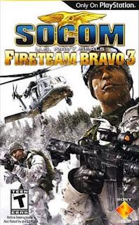 SOCOM - U.S. Navy SEALs Fireteam Bravo 3 PSP ISO