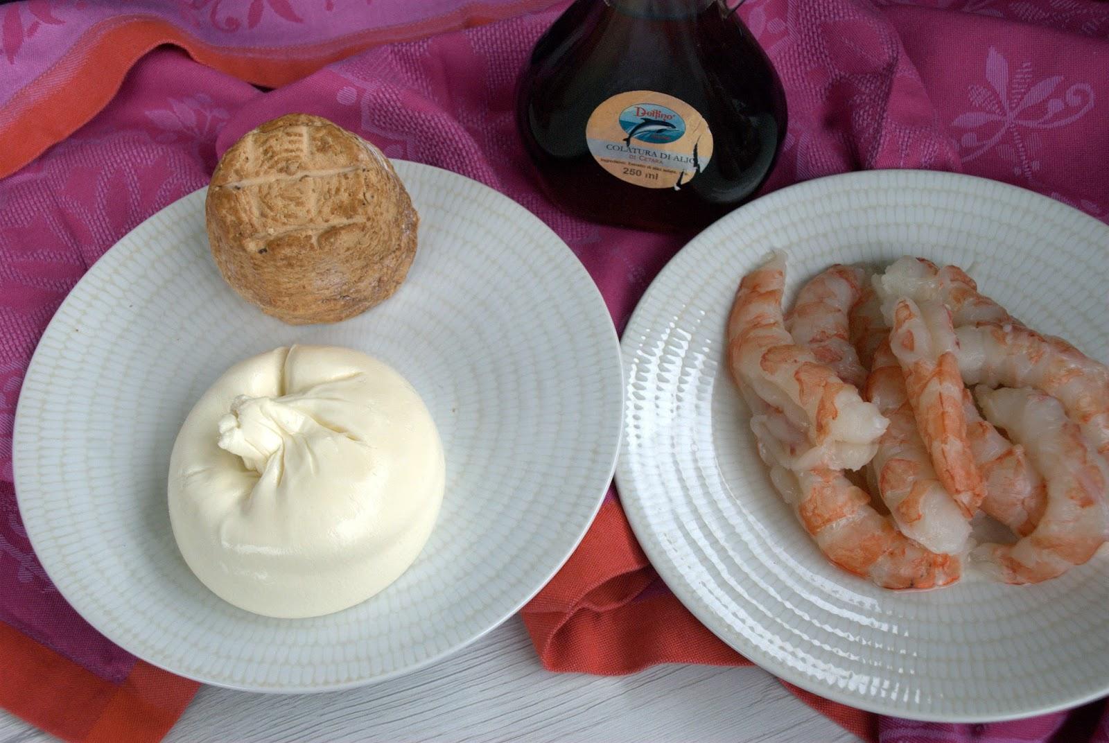 La Credenza Burrata : La gallina vintage: risotto gamberi burrata e colatura di alici