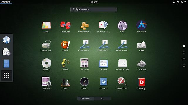 Arch Linux Desktop Image