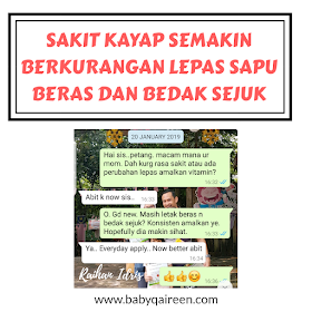 TIPS KURANGKAN PEDIH SAKIT KAYAP