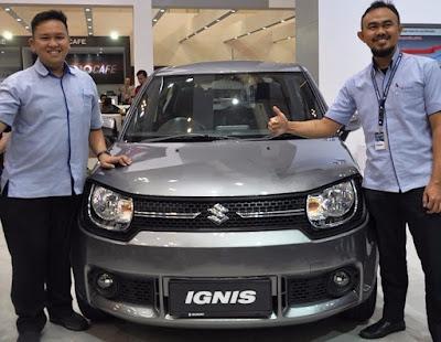 Launching Suzuki Ignis GL AGS di GIIAS 2017