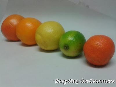 Recopilatorio de recetas con naranja