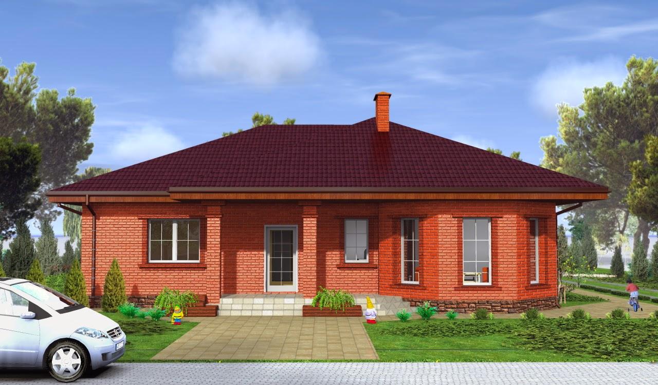 Скачать Проект Дома из Пеноблоков