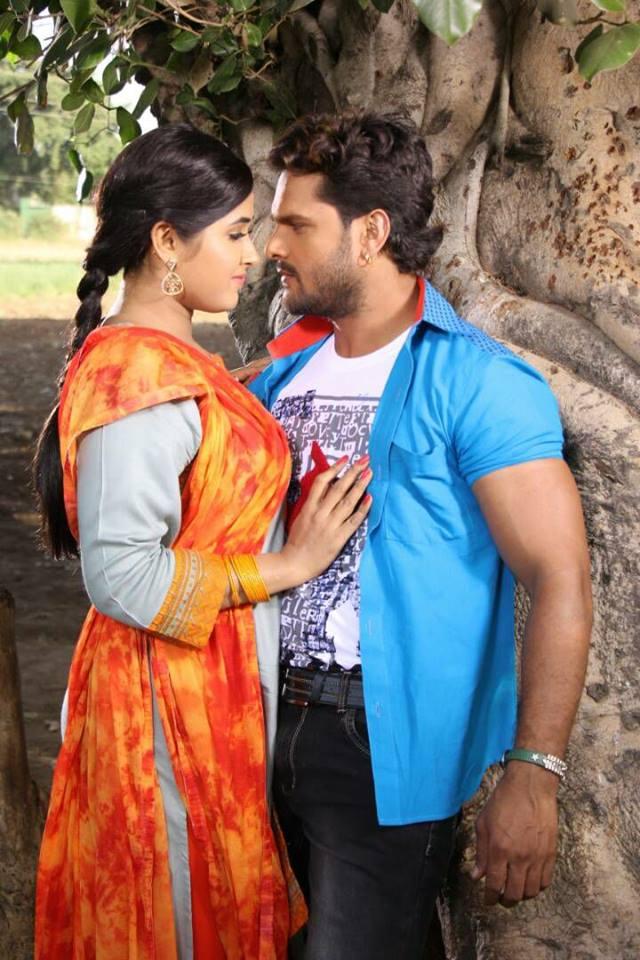 Kajal Raghwani and Khesari Lal Yadav Main Sehra Bandh Ke Aaunga Bhojpuri Movie Shooting stills, Main Sehra Bandh Ke Aaunga Bhandar Bhojpuri Movie