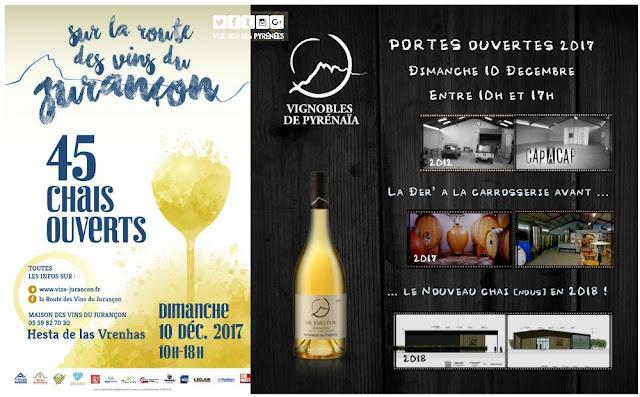 Route des Vins du Jurançon 2017 : Vignobles de Pyrénaïa