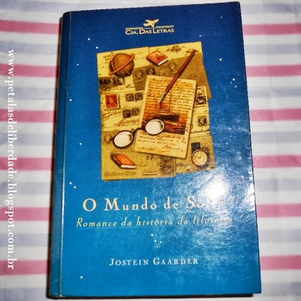 livro, O mundo de Sofia, Jostein Gaarder, Companhia das Letras