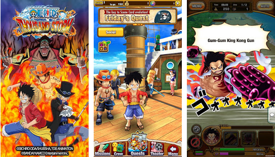 One Piece Thousand Storm Mod Apk Android