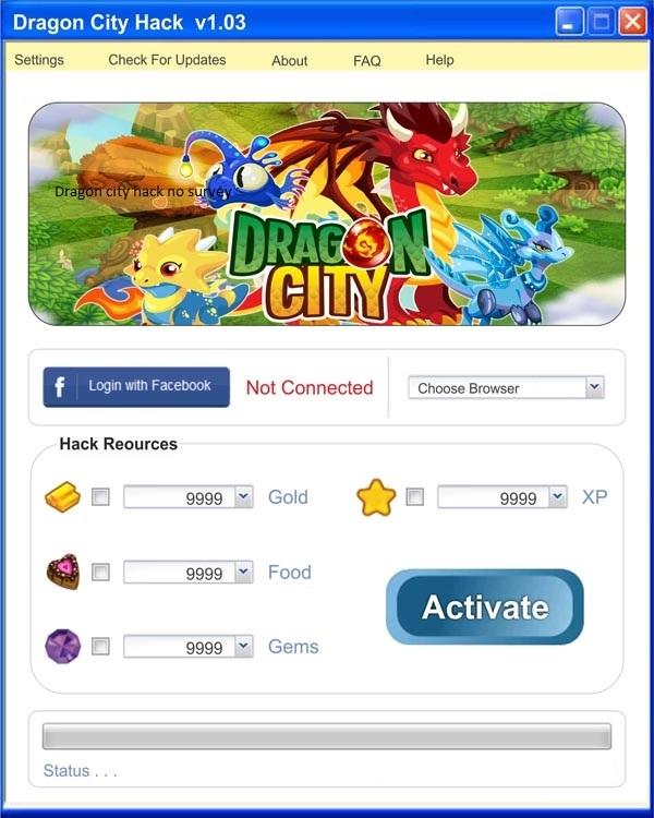 dragon city download pc hack