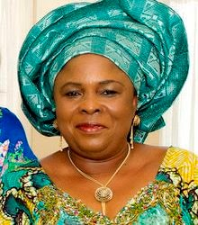 Dame Patience Jonathan calls on Nigerian women to support Mrs Aisha  Buhari