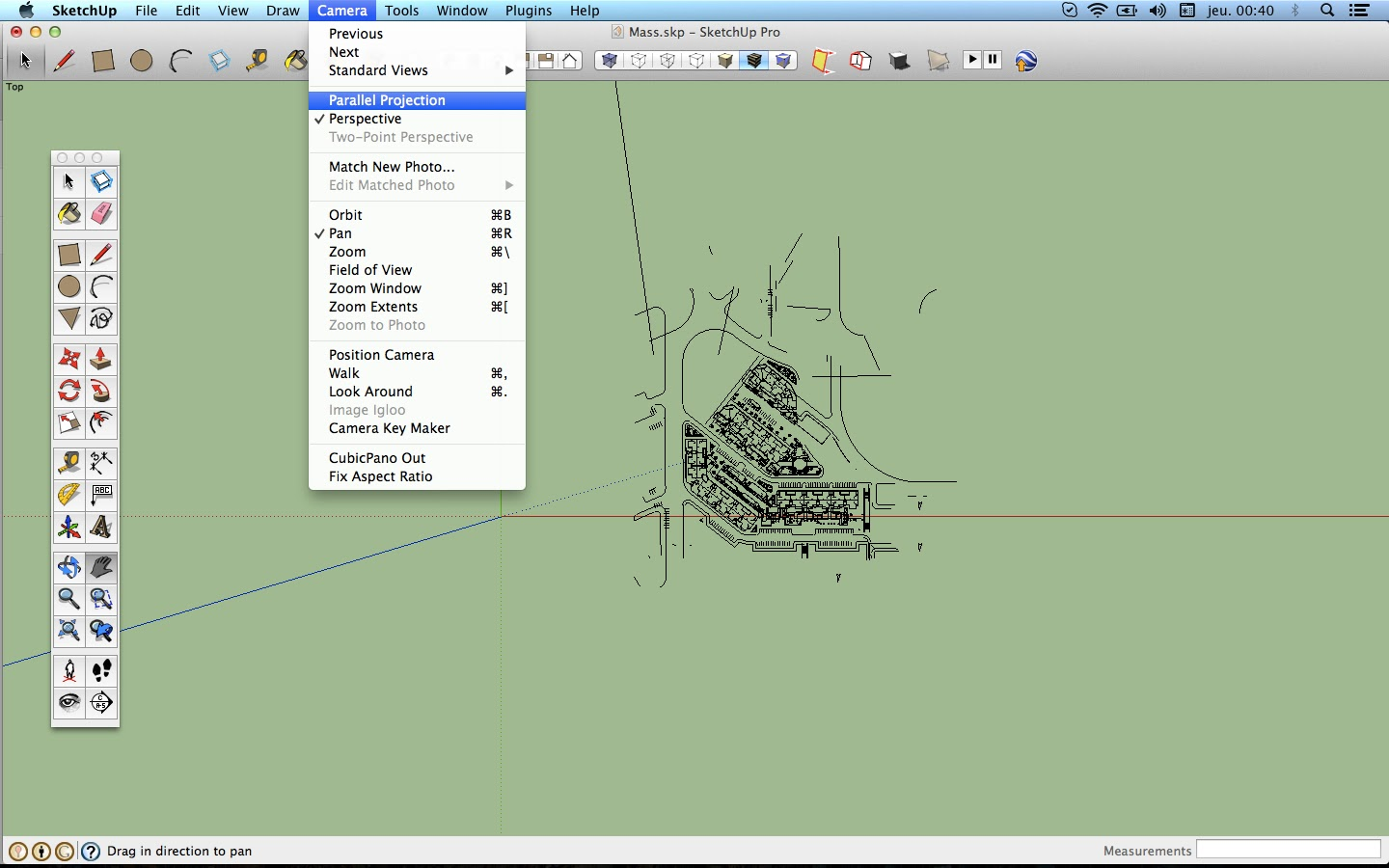 The Sketchup Blog: Flatten AutoCAD drawing in Sketchup
