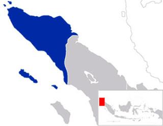 Gambar Peta Lokasi Aceh