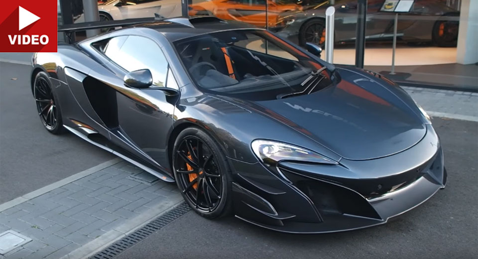 Mclaren S 675lt Based Mso Hs Looks Insane On The Street