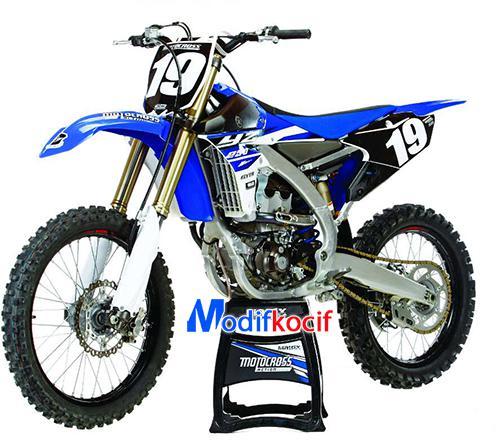 Motor Trail Yamaha YZ250F