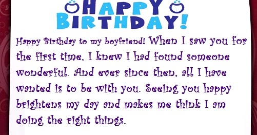 A sweet happy birthday letter to my boyfriend spiritdancerdesigns Choice Image