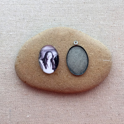 Picture photo cabochon - how to