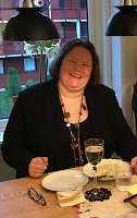 Gro Jeanette Nilsen  på Champagnelunsj.